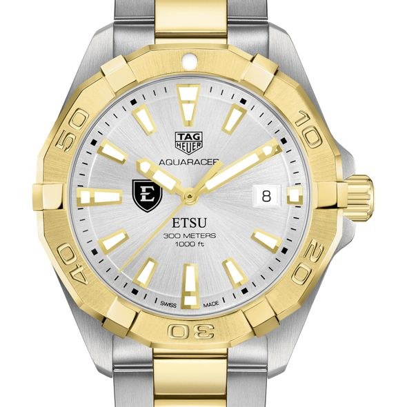East Tennessee State University Men's TAG Heuer Two-Tone Aquaracer