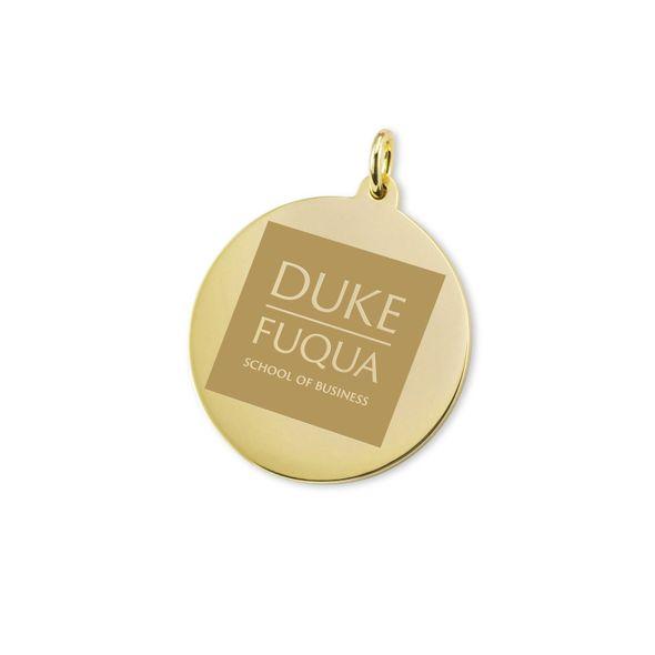Duke Fuqua 14K Gold Charm