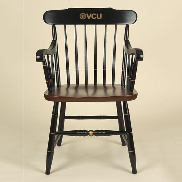 Virginia Commonwealth University Captain's Chair by Hitchcock