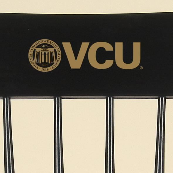 Virginia Commonwealth University Captain's Chair by Hitchcock - Image 2