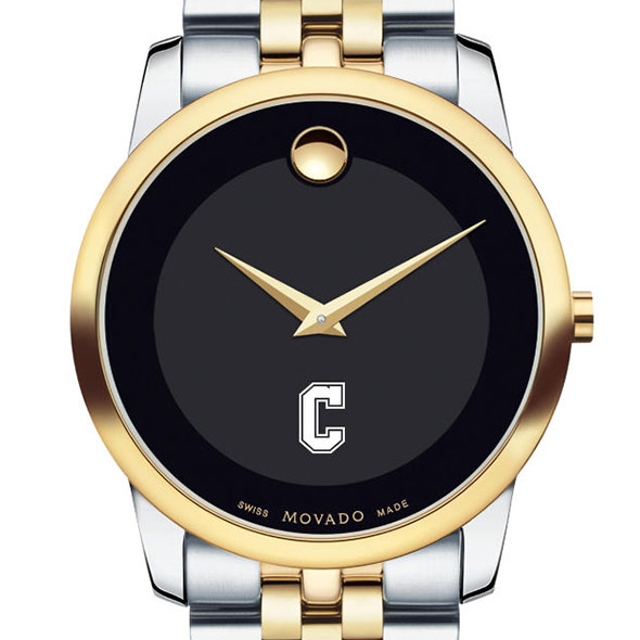 College of Charleston Men's Movado Two-Tone Museum Classic Bracelet