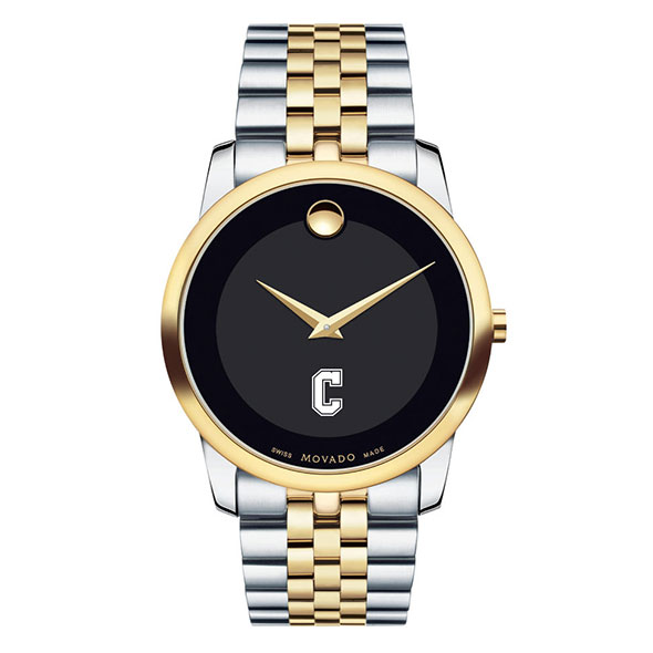 College of Charleston Men's Movado Two-Tone Museum Classic Bracelet - Image 2