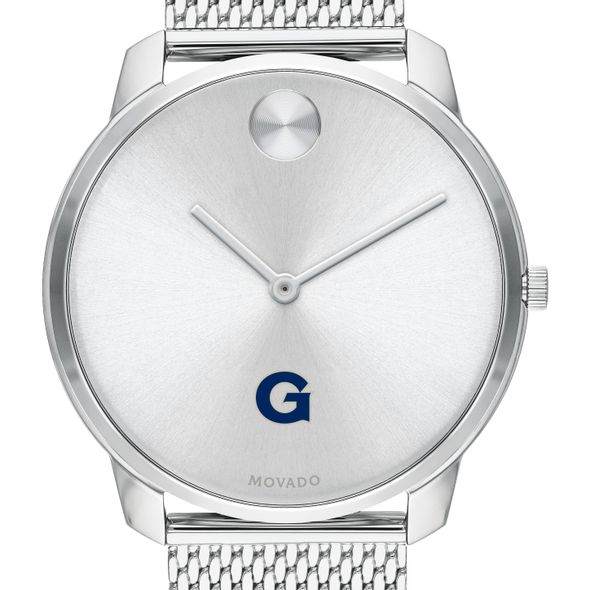 Georgetown University Men's Movado Stainless Bold 42