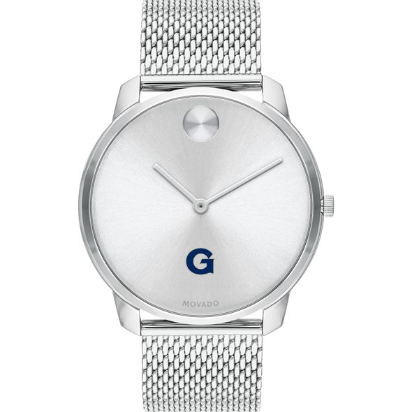 Georgetown University Men's Movado Stainless Bold 42 - Image 2