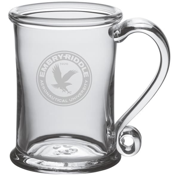 Embry-Riddle Glass Tankard by Simon Pearce