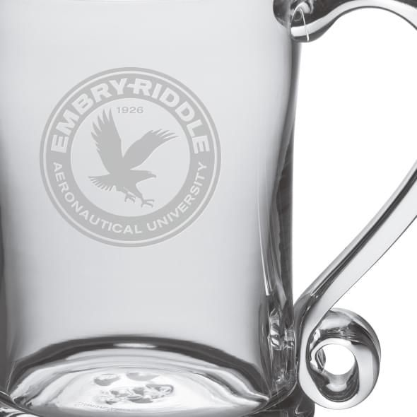 Embry-Riddle Glass Tankard by Simon Pearce - Image 2