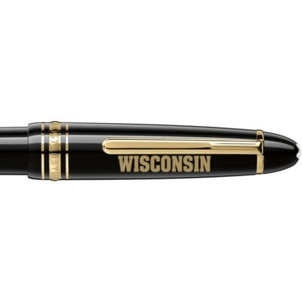 Wisconsin Montblanc Meisterstück LeGrand Ballpoint Pen in Gold - Image 2