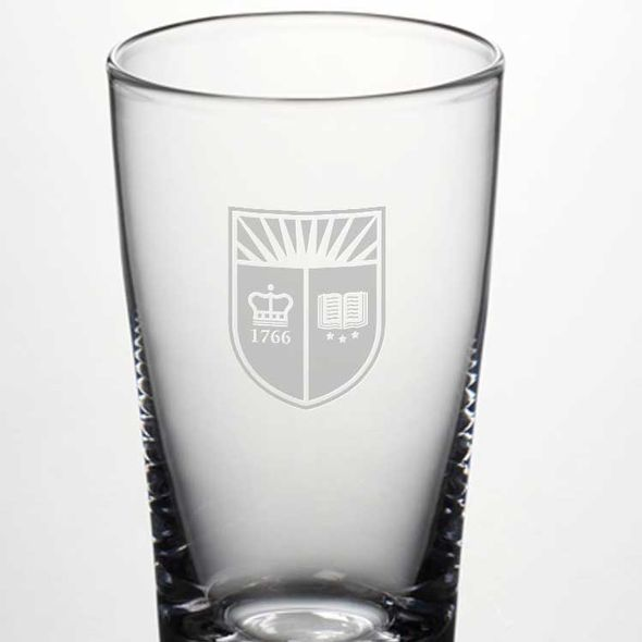 Rutgers University Ascutney Pint Glass by Simon Pearce - Image 2
