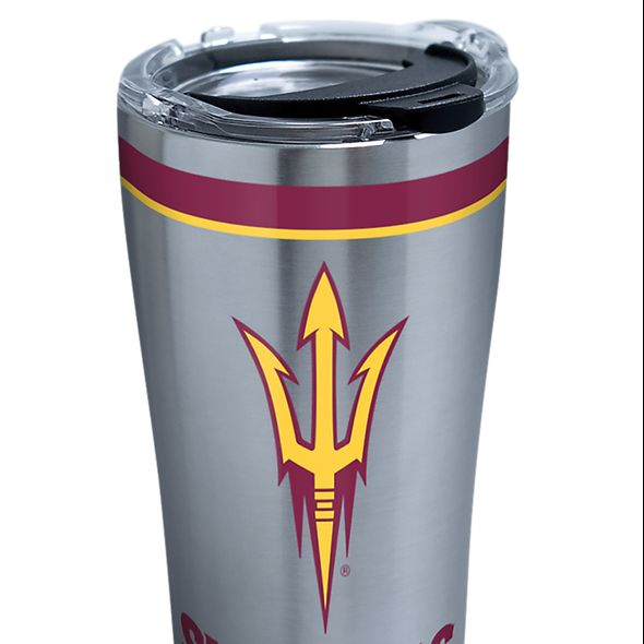 ASU 20 oz. Stainless Steel Tervis Tumblers with Hammer Lids - Set of 2 - Image 2