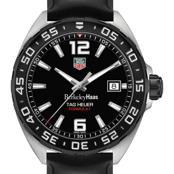 Berkeley Haas Men's TAG Heuer Formula 1 with Black Dial