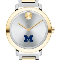University of Michigan Women's Movado Two-Tone Bold 34
