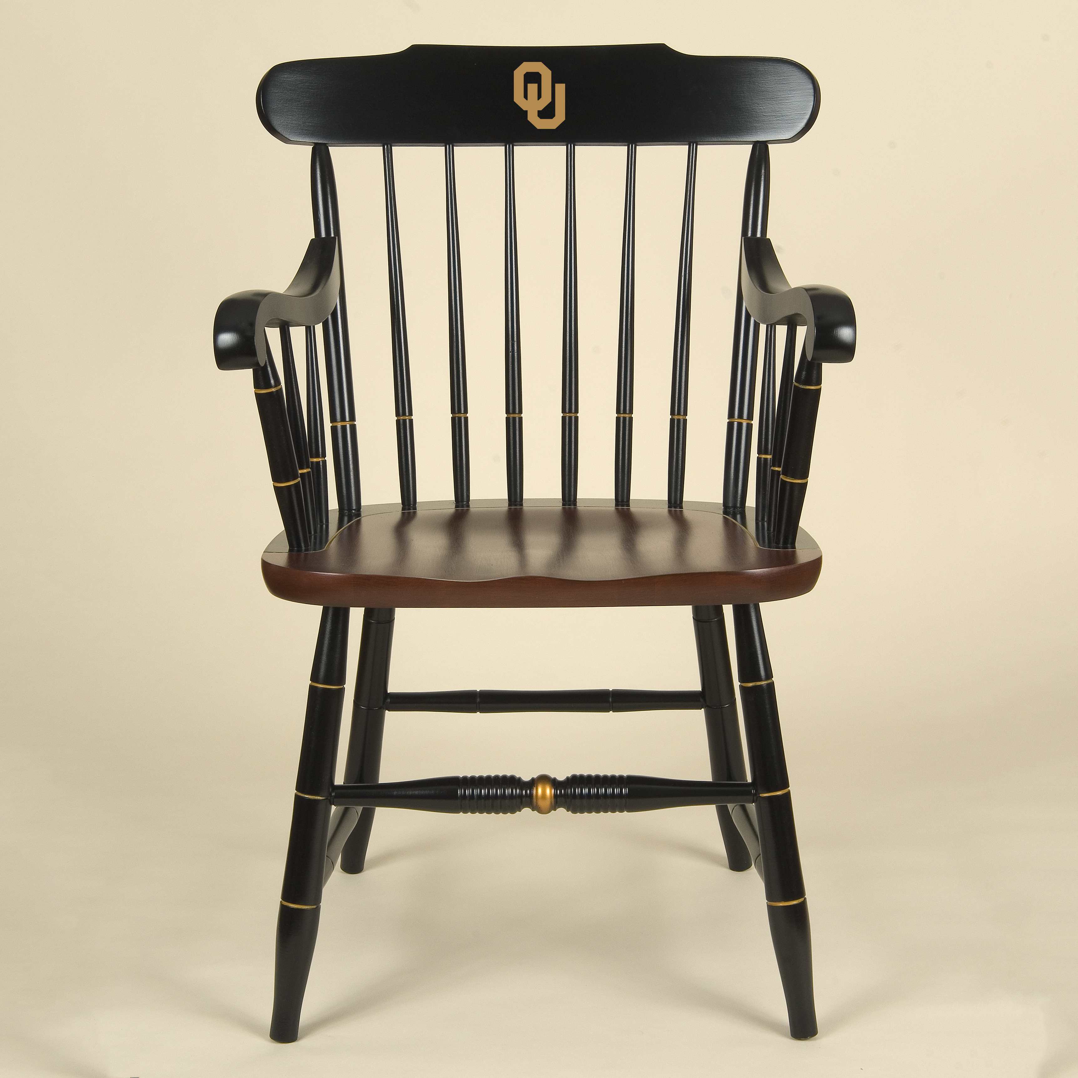 University of Oklahoma Captain's Chair by Hitchcock