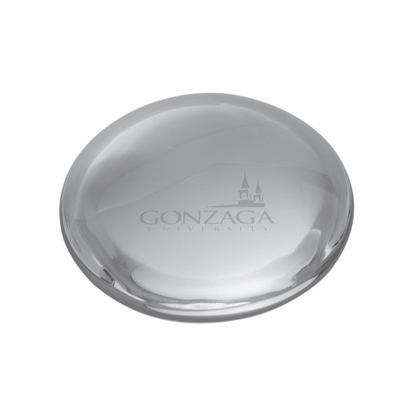 Gonzaga Glass Dome Paperweight by Simon Pearce