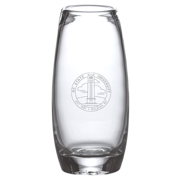 NC State Glass Addison Vase by Simon Pearce