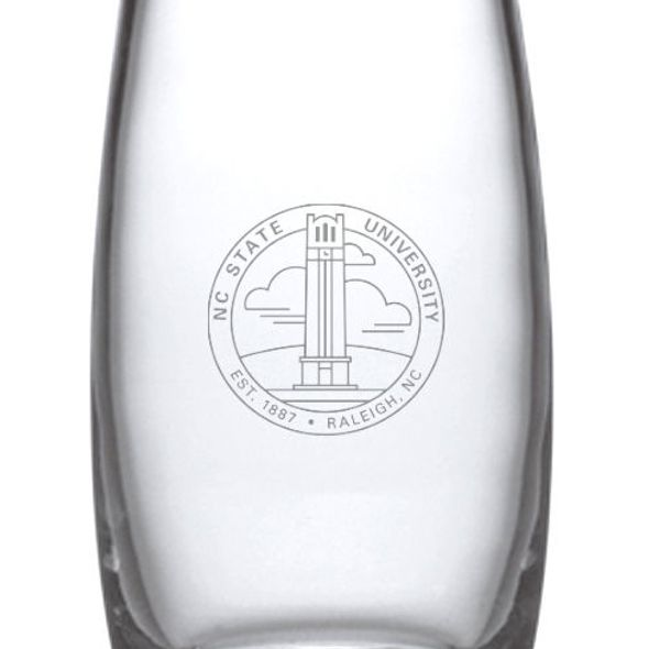 NC State Glass Addison Vase by Simon Pearce - Image 2