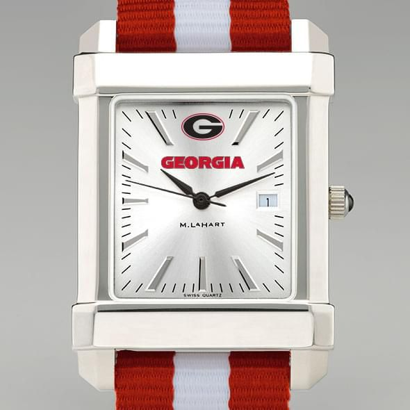 University of Georgia Collegiate Watch with NATO Strap for Men - Image 1