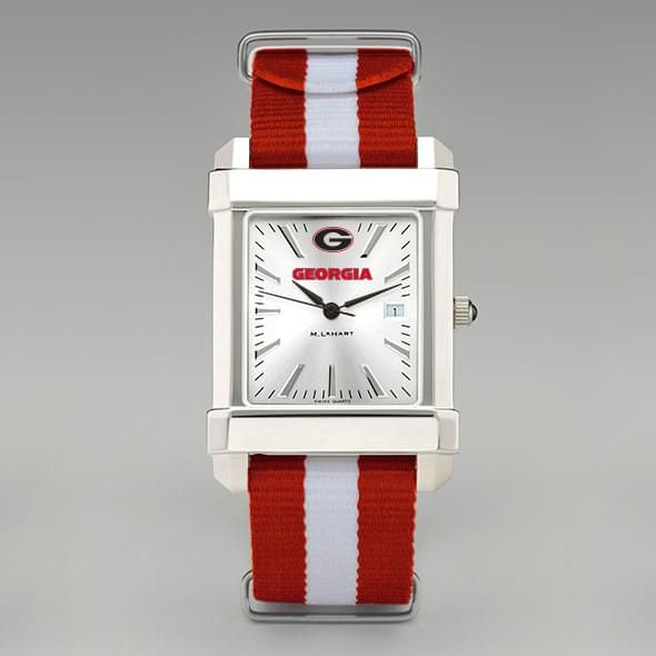 University of Georgia Collegiate Watch with NATO Strap for Men - Image 2