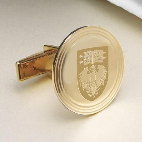 Chicago 18K Gold Cufflinks - Image 2