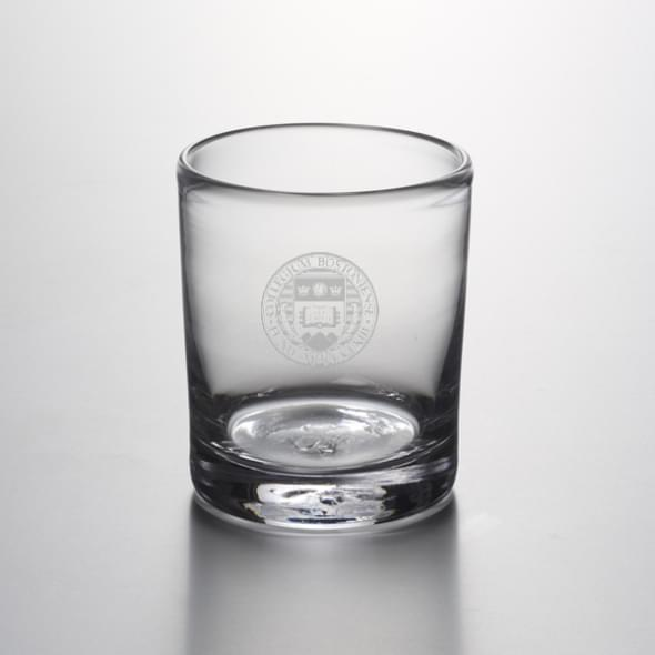 Boston College Double Old Fashioned Glass by Simon Pearce