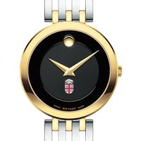 Brown University Women's Movado Esparanza Two-Tone Museum with Bracelet