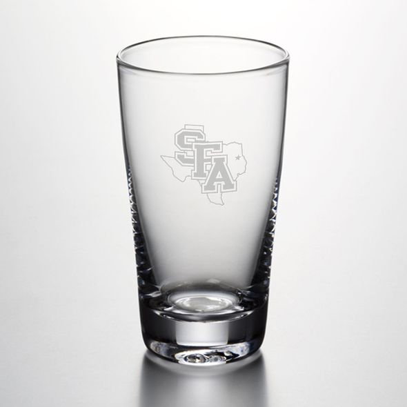 SFASU Ascutney Pint Glass by Simon Pearce