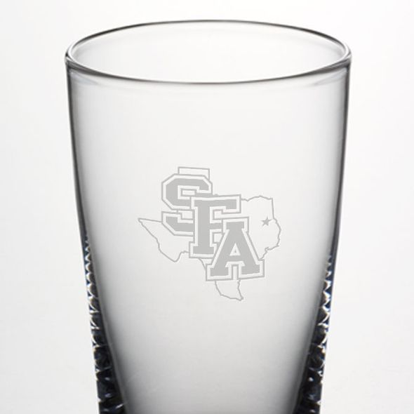 SFASU Ascutney Pint Glass by Simon Pearce - Image 2