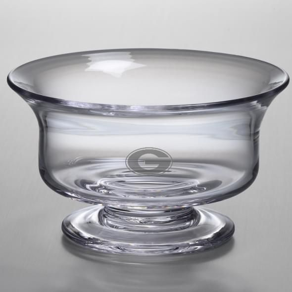 Georgia Medium Glass Revere Bowl by Simon Pearce - Image 2