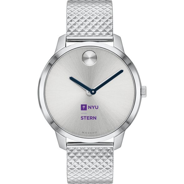 NYU Stern School of Business Women's Movado Stainless Bold 35 - Image 2