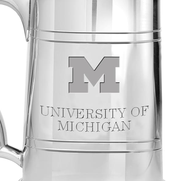 Michigan Pewter Stein - Image 2