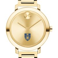 Yale School of Management Women's Movado Gold Bold 34
