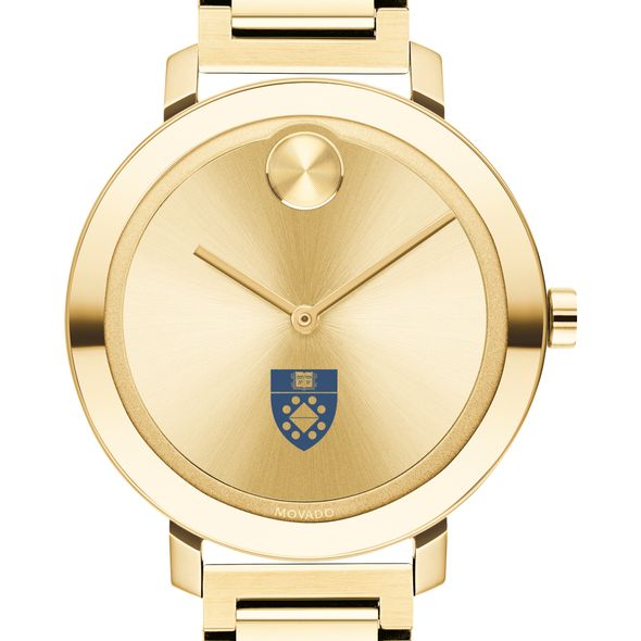 Yale School of Management Women's Movado Gold Bold 34 - Image 1