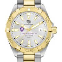 Holy Cross Men's TAG Heuer Two-Tone Aquaracer