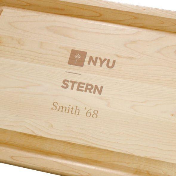 NYU Stern Maple Cutting Board - Image 2