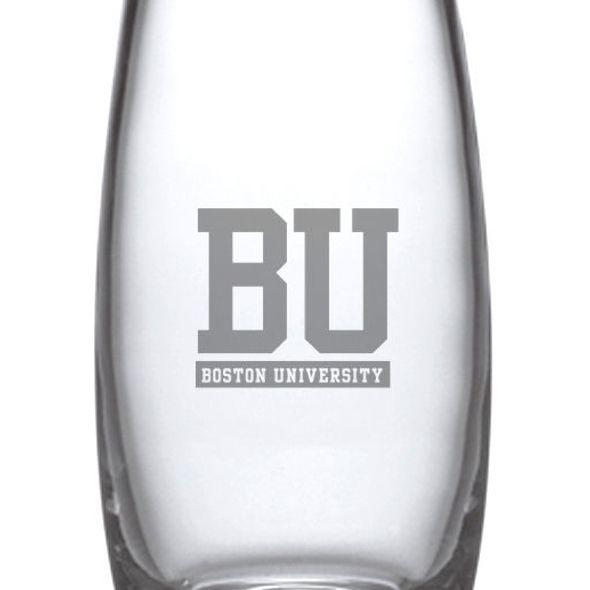 Boston University Glass Addison Vase by Simon Pearce - Image 2