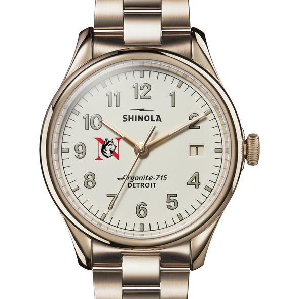 Northeastern Shinola Watch, The Vinton 38mm Ivory Dial - Image 1