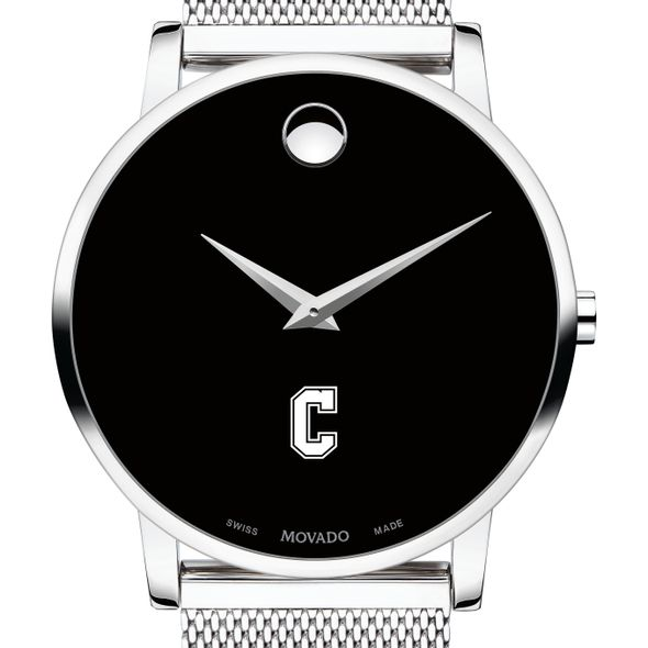 College of Charleston Men's Movado Museum with Mesh Bracelet