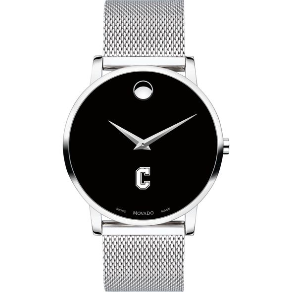 College of Charleston Men's Movado Museum with Mesh Bracelet - Image 2