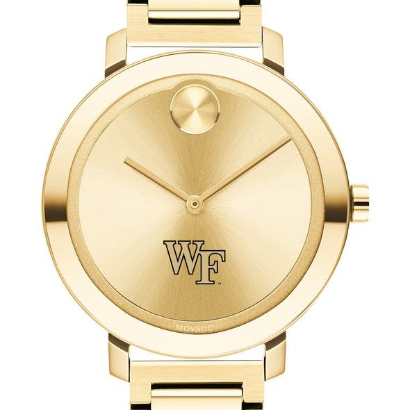 Wake Forest University Women's Movado Gold Bold 34