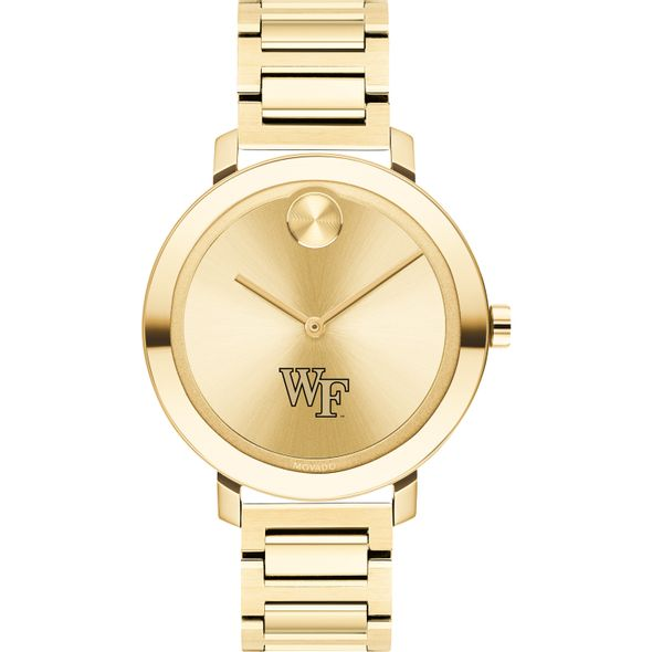 Wake Forest University Women's Movado Gold Bold 34 - Image 2