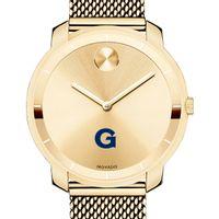 Georgetown University Women's Movado Gold Bold 36