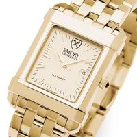 Emory Men's Gold Quad Watch with Bracelet