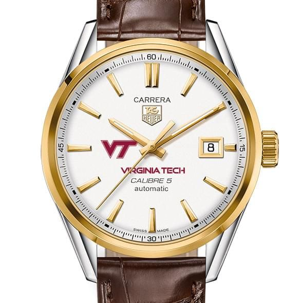 Virginia Tech Men's TAG Heuer Two-Tone Carrera with Strap
