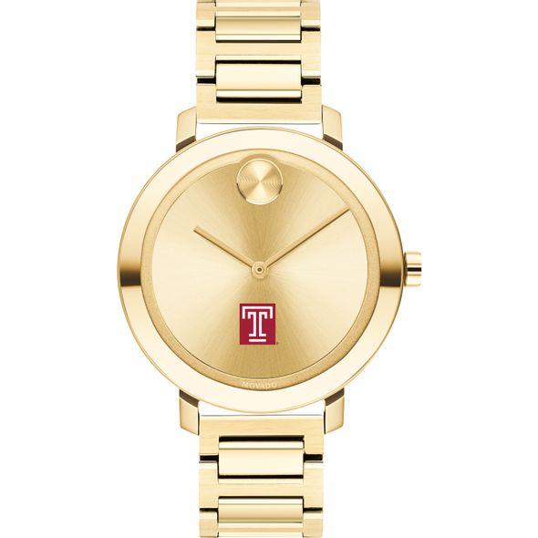 Temple University Women's Movado Gold Bold 34 - Image 2