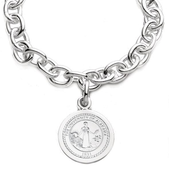 Alabama Sterling Silver Charm Bracelet - Image 2