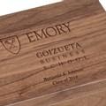 Emory Goizueta Solid Walnut Desk Box - Image 2