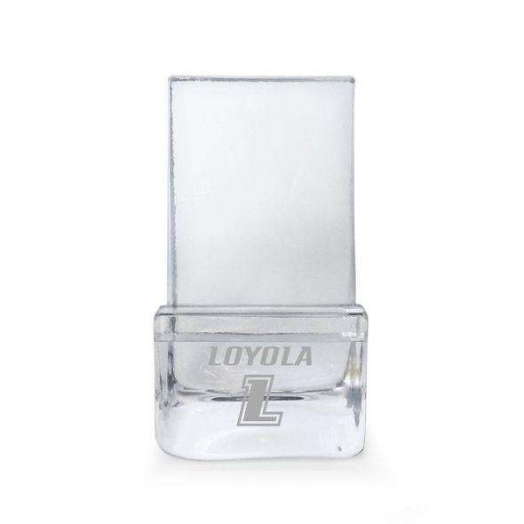 Loyola Glass Phone Holder by Simon Pearce - Image 1