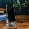 Loyola Glass Phone Holder by Simon Pearce - Image 3