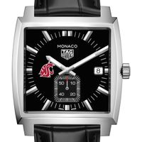Washington State University TAG Heuer Monaco with Quartz Movement for Men