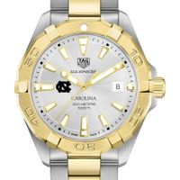 University of North Carolina Men's TAG Heuer Two-Tone Aquaracer