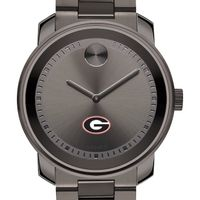 University of Georgia Men's Movado BOLD Gunmetal Grey